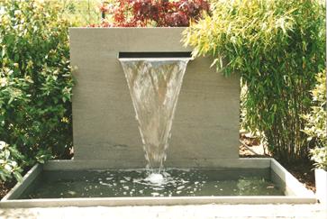 Awesome Wasserspiele Im Garten Edelstahl Images - House Design ...